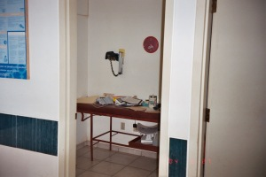 Intake Room, vital signs