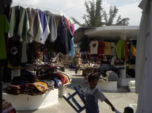 Otavalo market scene