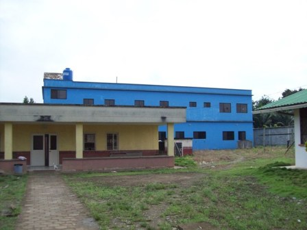 The new clinic building