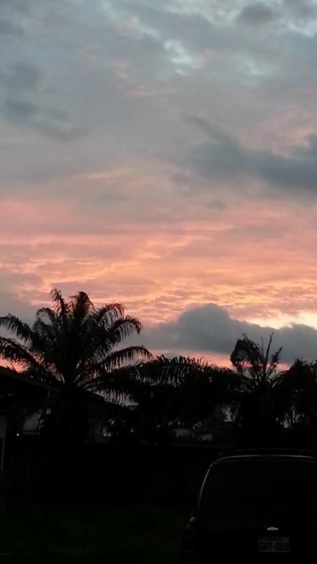 Sunset over San Lorenzo