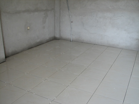 Most of the floor installed