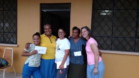 L-R: Carmen, Angelita, Leila, Maria Luisa, Jane